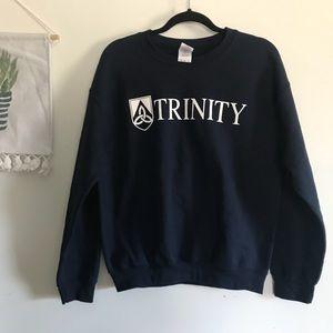 🔱Vintage Trinity College Crewneck